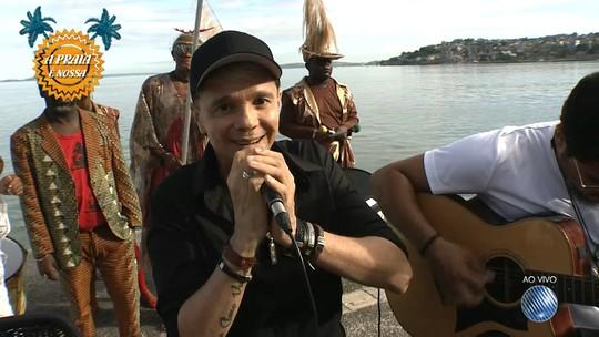 Netinho fala sobre a volta à rotina de shows e apresenta música nova