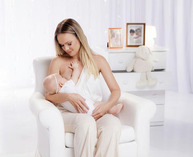 Eliana e a filha, Manuela (Foto: Gabriel Cardoso)
