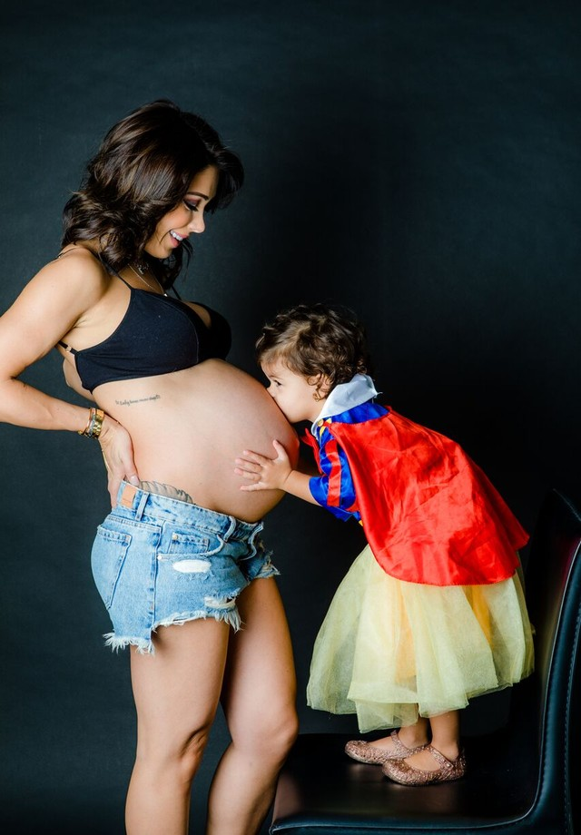 Bella Falconi e Victoria (Foto: divulgação/Leo Mayrinck)