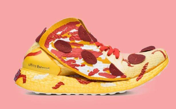Tênis-pizza da Adidas