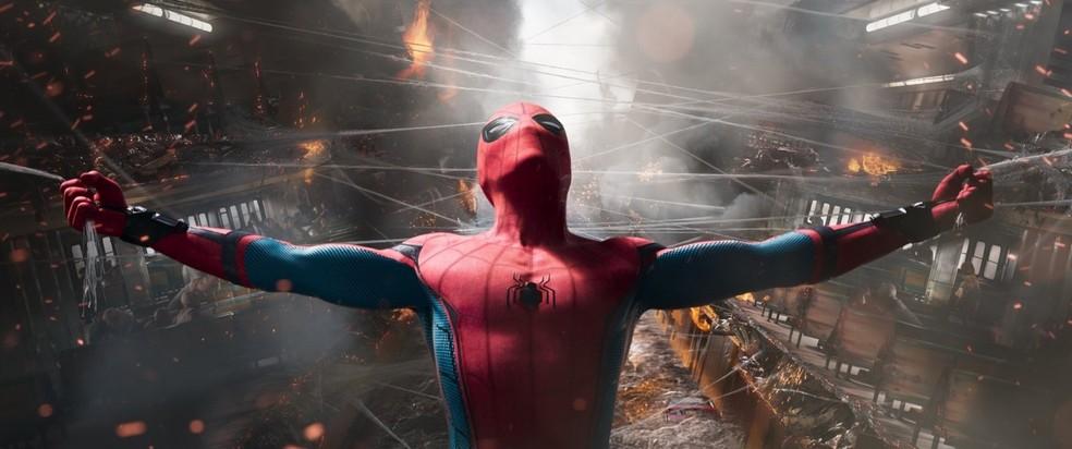 Cena de 'Homem-Aranha: De volta ao lar' (Foto: Divulgação)