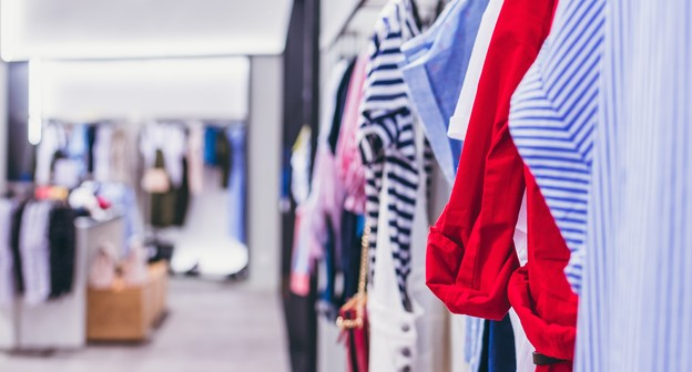 Varejo; roupas; loja