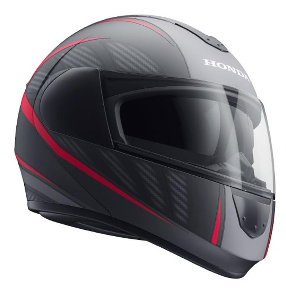 Quem comprar a nova CB Twister leva um capacete Honda escamoteável grátis (Foto: Divulgação)