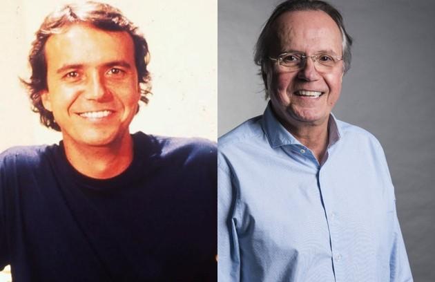 Tato Gabus Mendes foi Paxá, um eterno estudante que vivia de armações. O último trabalho do ator na TV foi em 'A lei do amor' (Foto: TV Globo)
