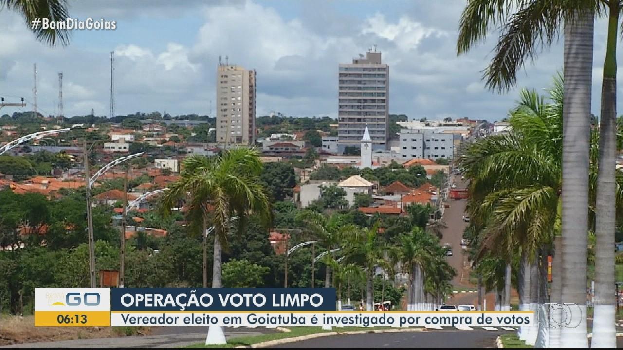 Vereador eleito em Goiatuba é suspeito de compra de votos