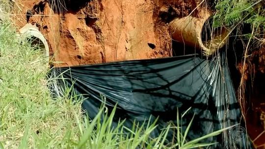 Polícia alerta sobre risco de desabamento da alça de acesso de rodovia em Marília