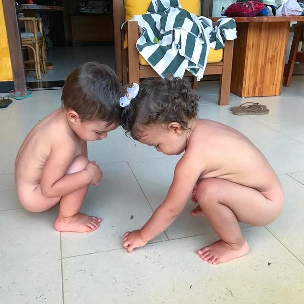 Luana Piovani mostra foto dos filhos (Foto: Reprodução/Instagram)