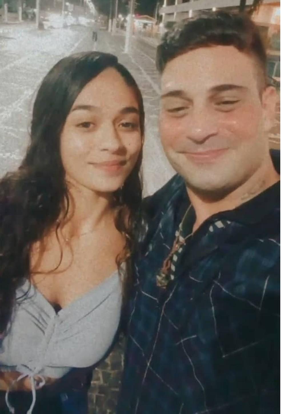 Luanna e Lucas se encontraram pela primeira vez após 15 anos — Foto: Arquivo Pessoal