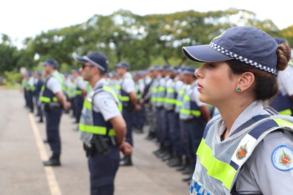 Policiais Militares do Distrito Federal — Foto: PMDF/ Divulgação