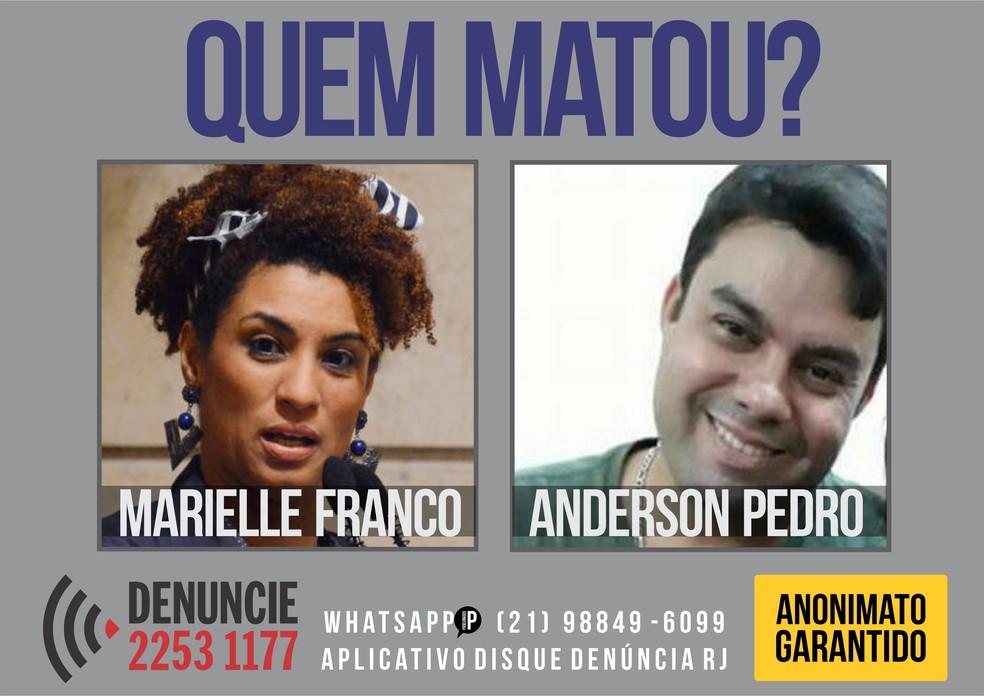 Disque-denúncia lança cartaz para pessoas denunciarem sobre o crime (Foto: Divulgação)