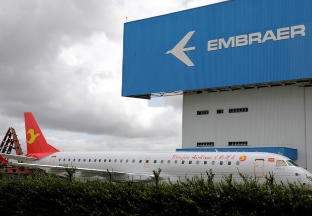 Embraer (Foto: Paulo Whitaker/Reuters)