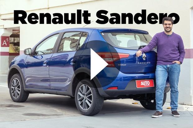 Vídeo: Renault Sandero CVT (Foto: Marcos Camargo / Autoesporte)
