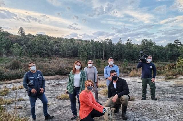 Equipe do 'Globo repórter' (Foto: Divulgação/Globo)