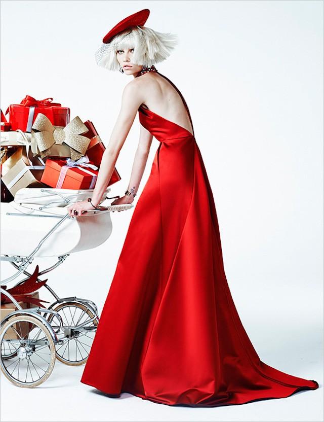 Aline Weber na Vogue Brasil de dezembro/2013, por Zee Nunes (Foto: Zee Nunes)