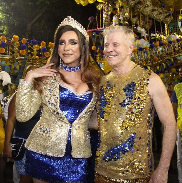 Miguel Falabella e Marisa Orth (Foto: Roberto Valverde/ Ed. Globo)