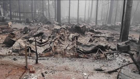 Sobe para 66 nº de mortos em incêndios na Califórnia; há 631 desaparecidos