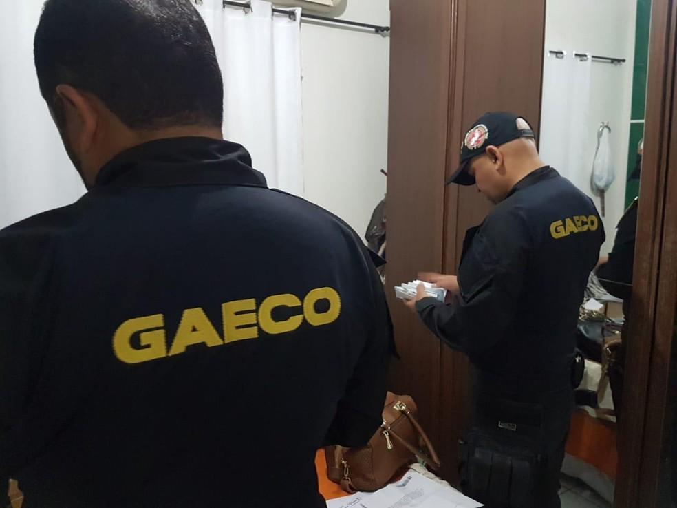 Operação Poço Sem Fundo cumpriu seis mandados de prisão no Piauí — Foto: Divulgação/Gaeco