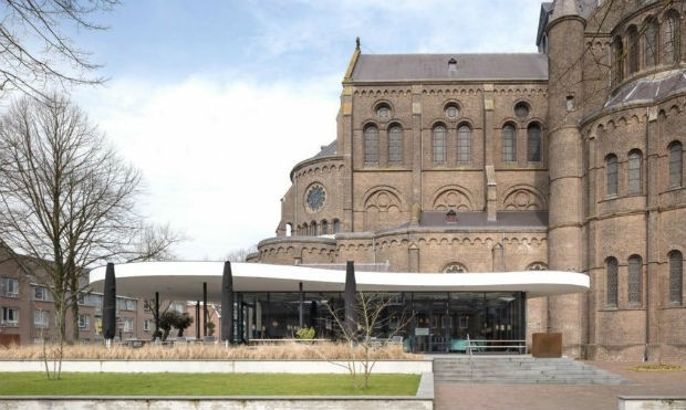 Igreja Irlandesa vira biblioteca e museu (Foto: Divulgação / Molenaar & Bol & Van Dillen Achitects)