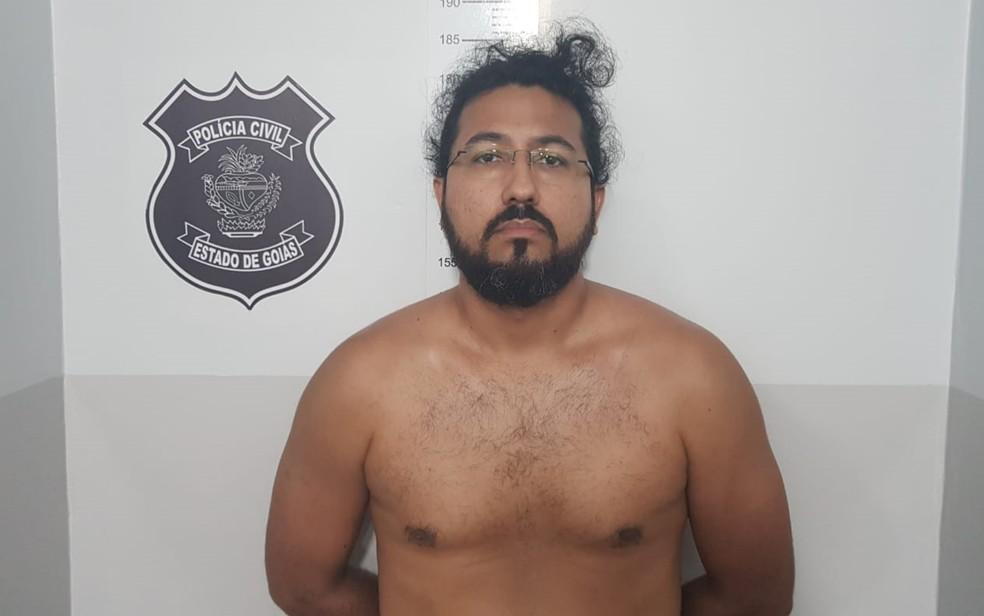 Preso em Goiás bancário suspeito de espancar empresário até a morte após briga de trânsito no Ceará — Foto: Polícia Civil/Divulgação