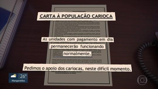 Greve de profissionais da saúde afeta todas as regiões do Rio