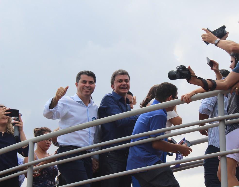 Candidato tentará corrida ao governo de Rondônia pela terceira vez. (Foto: Pedro Bentes/G1)