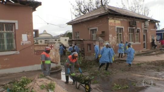 Brasileiros relatam cenário desolador e ajuda a vítimas em Moçambique