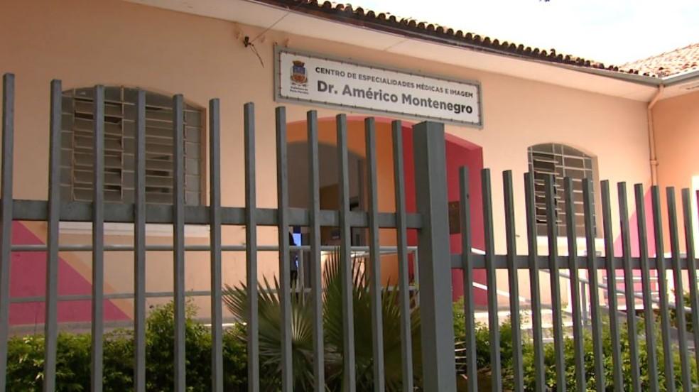 Local onde fica a Farmácia de Alto Custo de Porto Ferreira (Foto: Reprodução/ EPTV)
