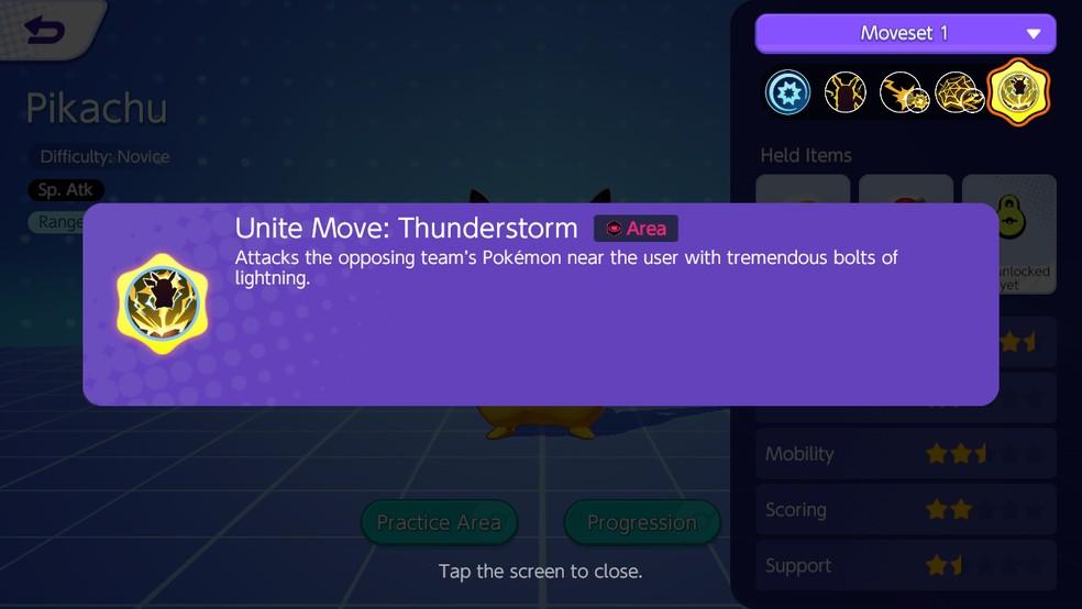 Seu Unite Move é ideal para pegar inimigos com pouco HP — Foto: Reprodução/Bruna Telles