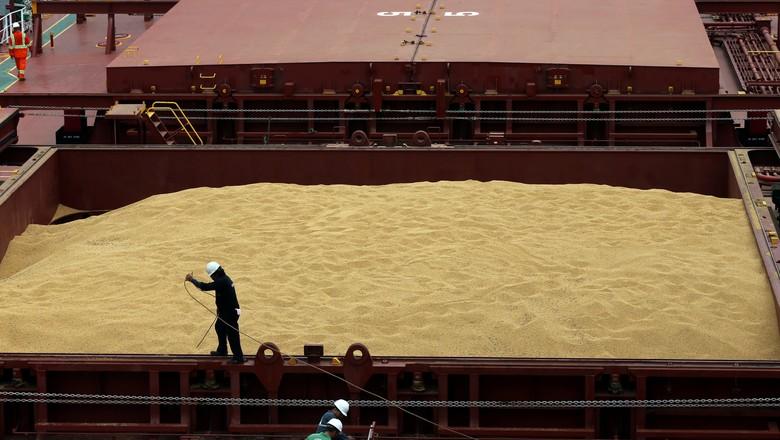agricultura-soja-exportação (Foto: Paulo Whitaker/Reuters)
