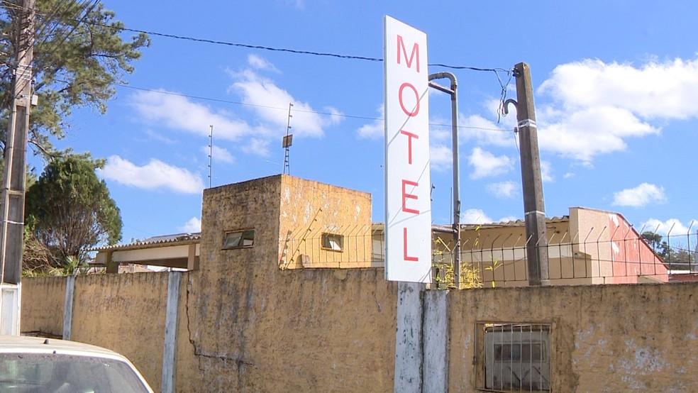 Germanie Paul trabalhava como recepcionista do motel — Foto: Reprodução/RBS TV