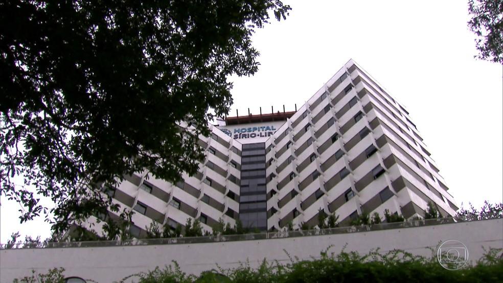 Caiado é levado de Goiânia para o Hospital Sírio-Libanês — Foto: Reprodução/TV Globo
