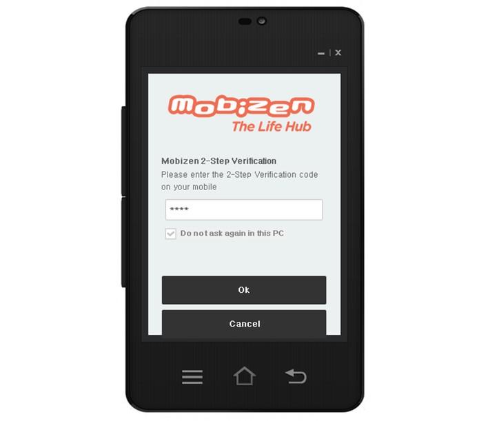 Sincronização do Android com Windows no Mobizen (Foto: Reprodução/Marcela Vaz)