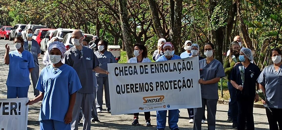 Coronavírus: conselhos de medicina e enfermagem recebem mais de 1.600 queixas em hospitais de SP