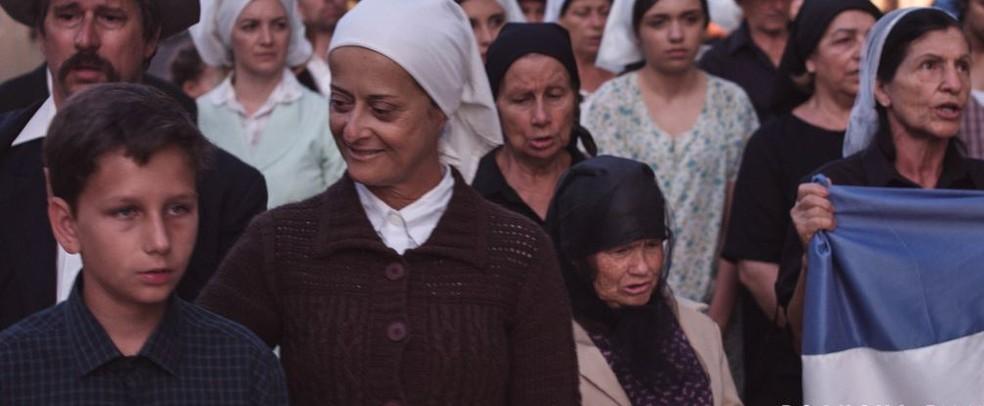Elenco que participou do filme foi capacitado pela direção do longa — Foto: Boanova Films/Divulgação