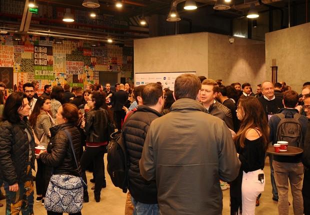 Coquetel de premiação do 100 Startups to Watch (Foto: Rafael Jota)