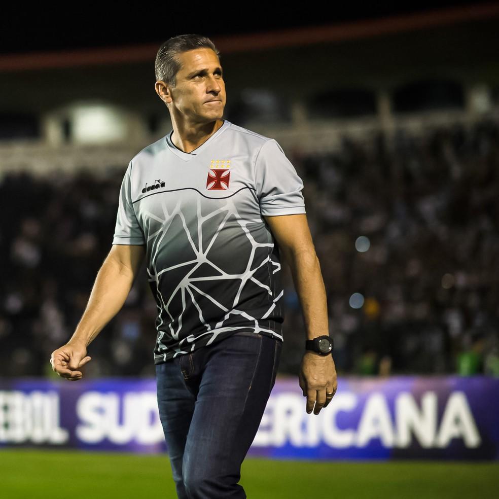 Jorginho teve duas passagens como técnico do Vasco — Foto: Jorge R Jorge/BP Filmes