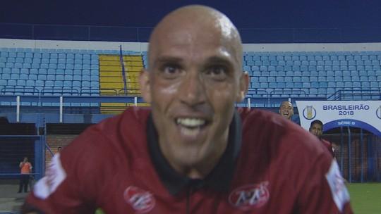 Boa atuação sem vitória do Avaí incomoda, e Guga quer retomada da confiança