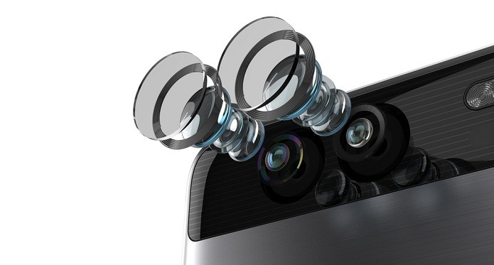 P9 traz sensor exclusivo para captura de imagens monocromáticas (Foto: Divulgação/Huawei)