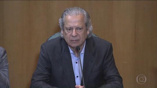 José Dirceu se apresenta para cumprir pena de 30 anos