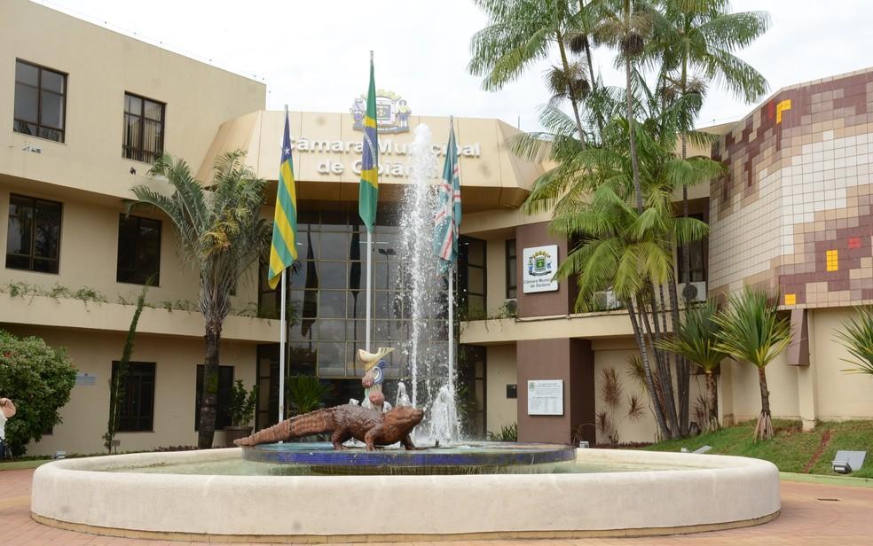 Câmara Municipal de Goiânia (Foto: Reprodução/Câmara Municipal)