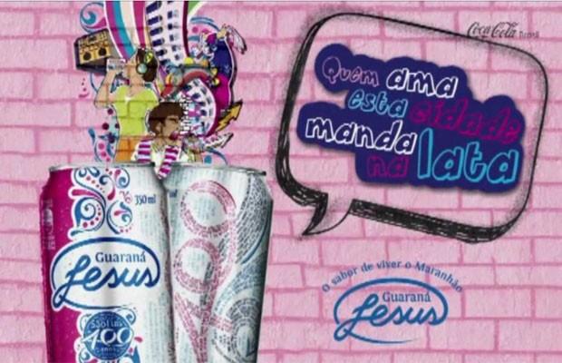 Com publicidade apenas regional, divulgação do Guaraná Jesus Brasil afora é feito no boca a boca (Foto: Divulgação)