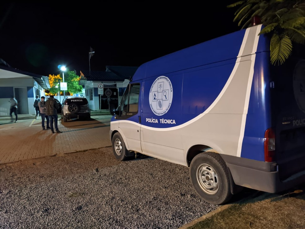 Departamento de Polícia Técnica de Barreiras foi acionado para levar o corpo do piloto — Foto: Polícia Civil de Barreiras