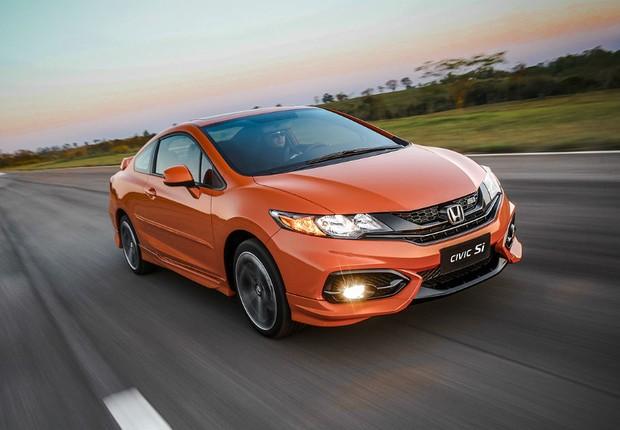 Novo Honda Civic Si na nossa pista de testes - AUTO