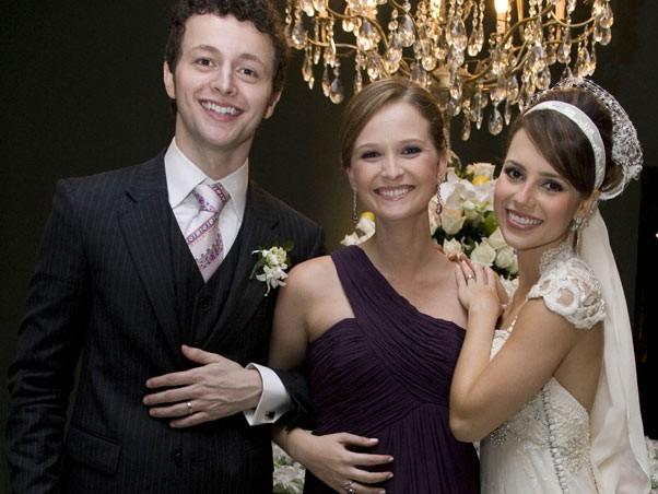 Fernanda Rodrigues é madrinha do casamento de Sandy e Lucas (Foto: Divulgação)