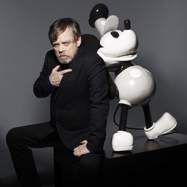 EMBARGOED UNTIL 1500, BST, WEDNESDAY 09 MAY 2018: Some of the world's most famous faces have come together to celebrate the 90th anniversary of Mickey Mouse this year and pay tribute to the cultural impact he has had on the world. Mark Hamill (pictured) i (Foto:  )