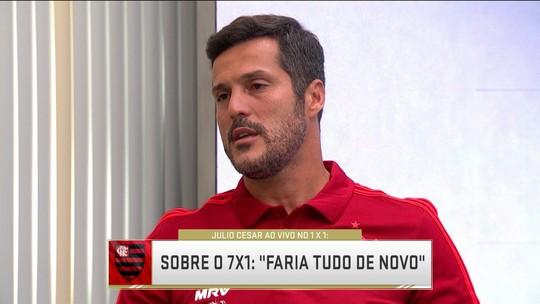"""Julio Cesar, goleiro da Seleção no 7x1, comenta episódio: """"É um peso que eu vou carregar"""""""