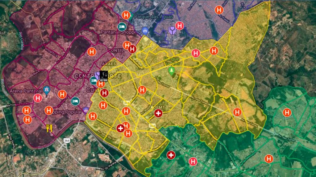 Pesquisador da UFMT cria mapa que auxilia atendimento a pessoas em situação de rua em Cuiabá