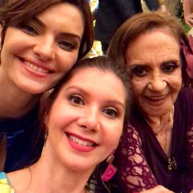 Mayana Neiva, Priscila Assum e Laura Cardoso (Foto: Reprodução/Instagram)