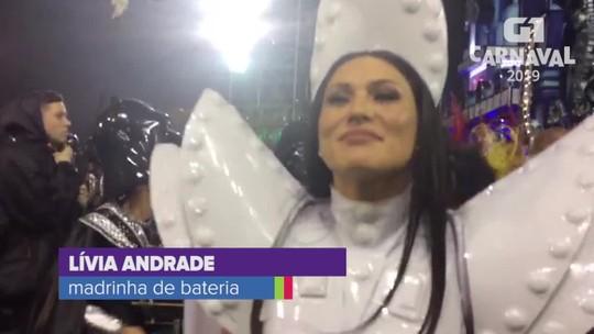 Lívia Andrade se veste de princesa Leia para a Império de Casa Verde e causa tumulto ao deixar hotel