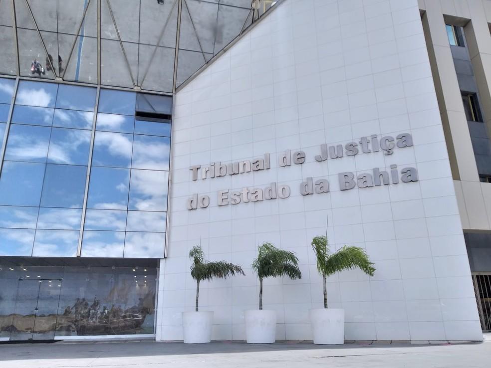 Sede do Tribunal de Justiça da Bahia (TJ-BA), em Salvador  — Foto: Alan Oliveira/G1